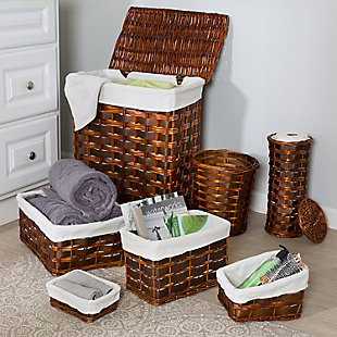 Honey-Can-Do 7 Piece Hamper and Storage Set, , rollover