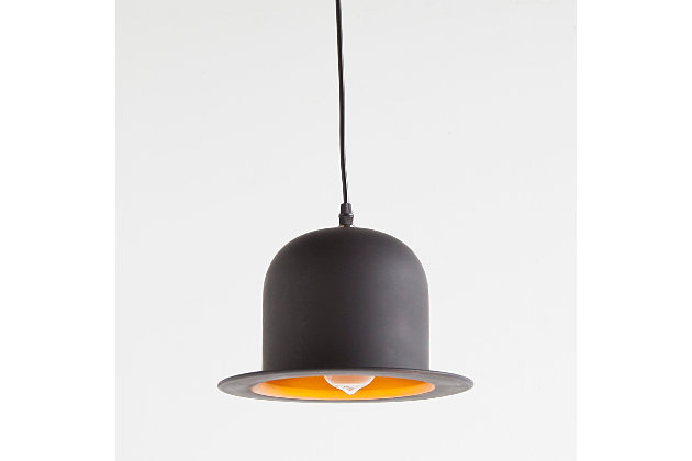 Black Home Accents Pendant Light by Ashley HomeStore