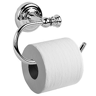 Home Accents Wall-Mounted Toilet Paper Holder, , large