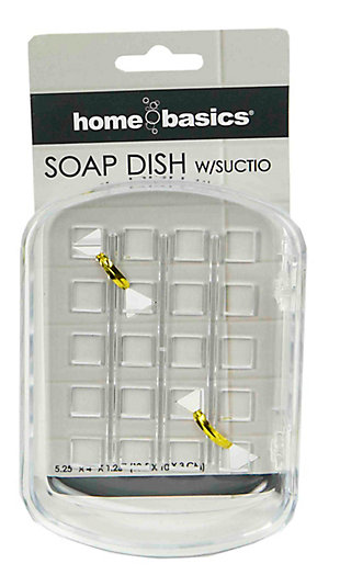 Home Accents Soap Dish with Suction Cups, , large