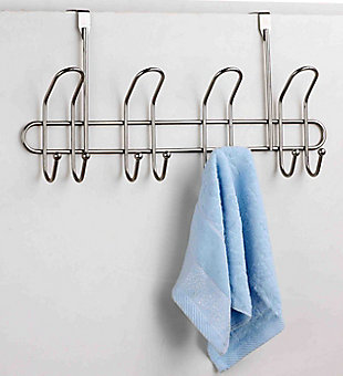 Home Accents 8 Hook Hanging Rack, , rollover