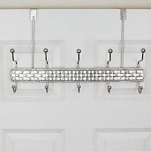 Home Accents Luxor 5 Hook Over-the-Door Hanging Rack, , rollover