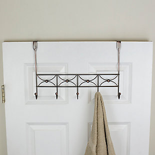 Home Accents Arbor 5 Hook Hanging Rack, , rollover