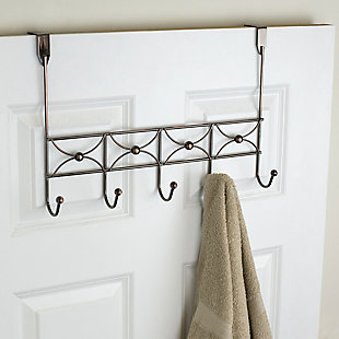 Home Accents Arbor 5 Hook Hanging Rack, , large