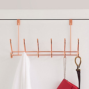 Home Accents 6 Hook Over-the-Door Hanging Rack, , rollover