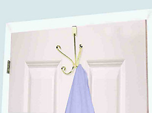 Home Accents Over-the-Door Double Hanging Hook, , large