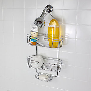 Home Accents Jumbo Shower Caddy, , rollover