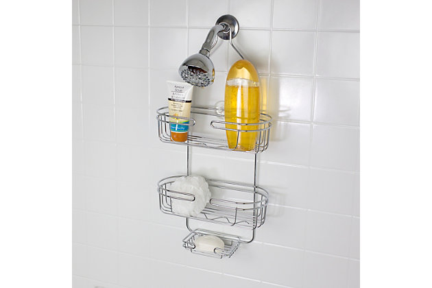 Home Accents Jumbo Shower Caddy, , large