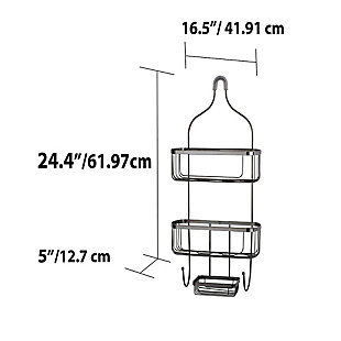 Home Accents Large Shower Caddy, , large