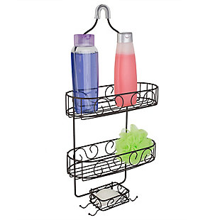 Home Accents Scroll Shower Caddy, , large