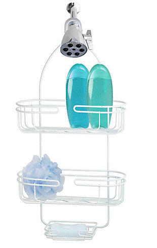 Home Accents Heavy Duty Powder Coated Steel Shower Caddy, , large
