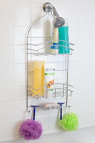 Home Accents Crescent Shower Caddy, , rollover