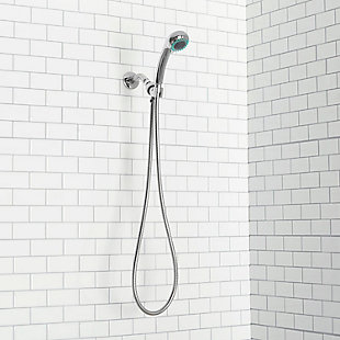 Home Accents 3 Function Chrome Plated Steel Shower Head Massager, , large