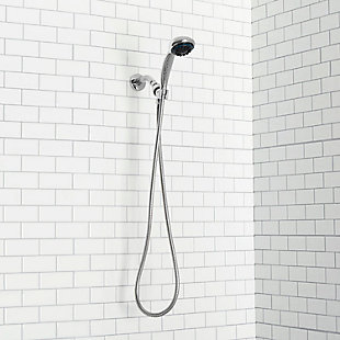Home Accents  8 Function Chrome Plated Steel Shower Head Massager, , rollover