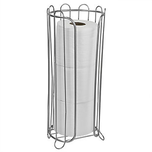 Home Accents Satin Nickel Tissue Holder, , large