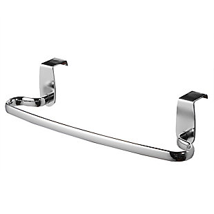 "Home Accents Chrome Plated Steel 9"" Over the Cabinet Towel Bar, , large"