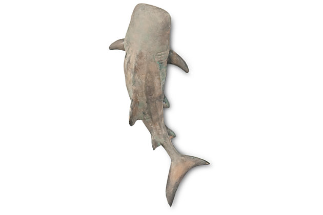 Home Accents Shark Sculpture, Gray, large