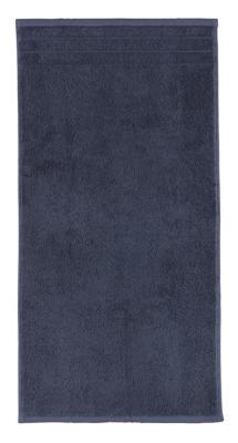 Arus 100% Turkish Terry Cotton 4-Pc Towel Set, Blue, large