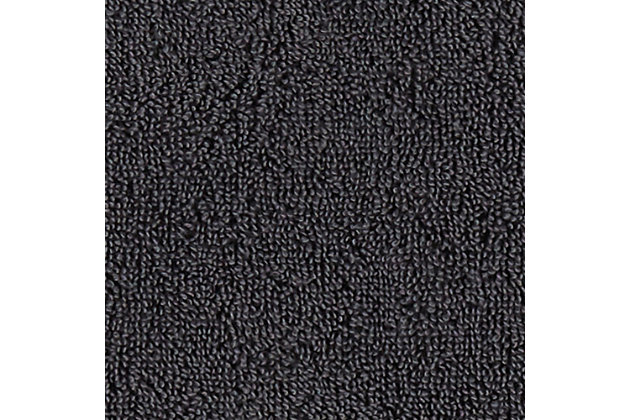 Arus 100% Turkish Terry Cotton 6-Pc Towel Set, Gray, large