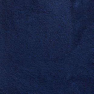 Arus Men's Full Length Hooded Turkish Bathrobe(XXL), Blue, large