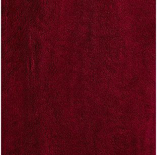 Arus Men's Full Length Hooded Turkish Bathrobe (S/M), Red, large