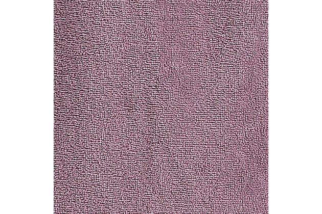 Arus Women's Full Length Soft Twist Cotton Hooded Turkish Bathrobe (S), Purple, large