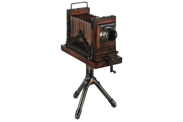 Home Accents Vintage Camera Sculpture, , large