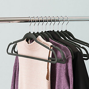 Sunbeam Velvet Hangers (Set of 10), , rollover