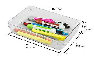 "Contemporary Plastic 6"" x 9"" Drawer Organizer, , large"