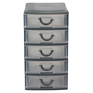 Contemporary Table Top Drawer Organizer, , rollover