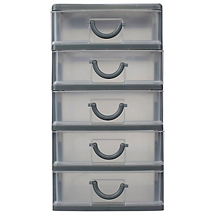 Contemporary Table Top Drawer Organizer, , large