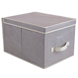 Contemporary Kensington Large Storage Box, , large