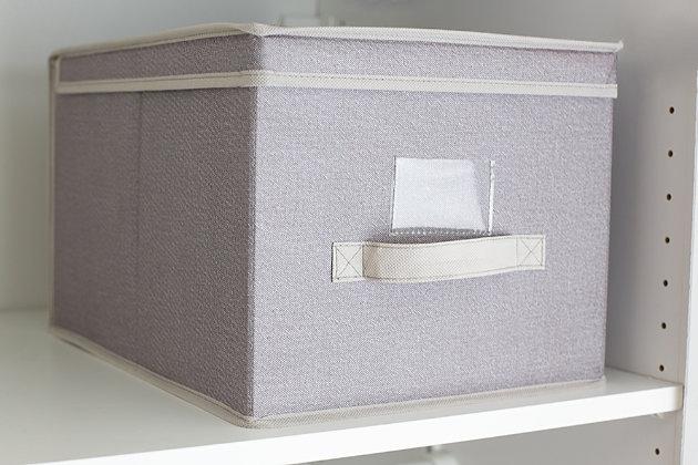 Contemporary Kensington Large Storage Box, , large