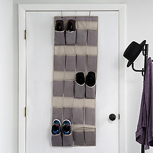 Contemporary Kensington Over the Door Shoe Organizer, , rollover