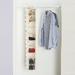 Contemporary Paris Ten Shelf Closet Organizer, , large