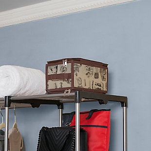 Contemporary Cities Small Zippered Storage Box, , rollover