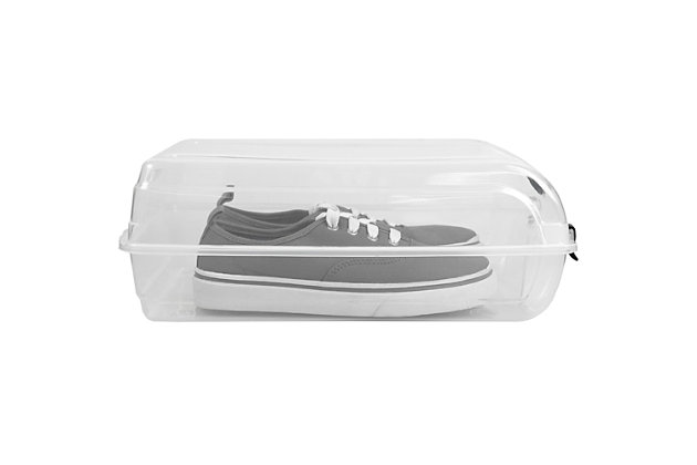 Multipurpose Large Stackable Storage Box with Locking Tabs, , large