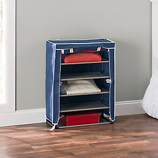 Sunbeam Five Tier Shoe Rack, , rollover