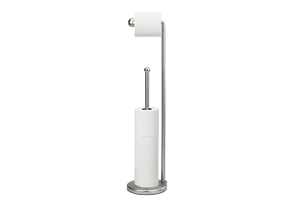Home Accent Teardrop Toilet Paper Stand, , large