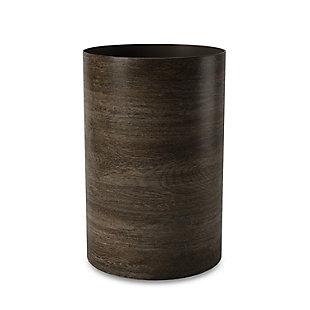 Umbra Treela Trash Can 4.5 Gallon (17 L), Brown/Beige, large