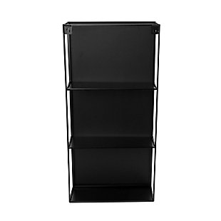 Home Accent Cubiko Wall Mirror & Storage Unit, , large