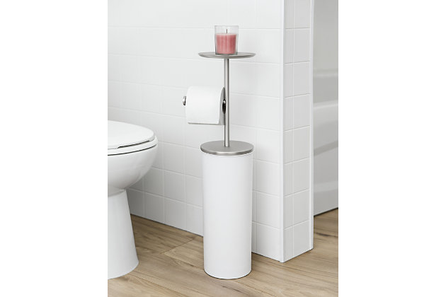 Umbra Portaloo Toilet Paper Stand and Storage, , large