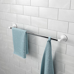 Home Accent Flex Sure-Lock Non-Damaging Towel Bar, , rollover