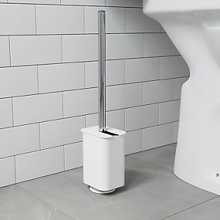 Home Accent Flex Sure-Lock Toilet Brush & Holder, , rollover