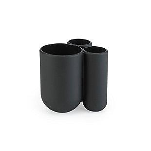 Umbra Touch Bath Bundle Black, Black, large
