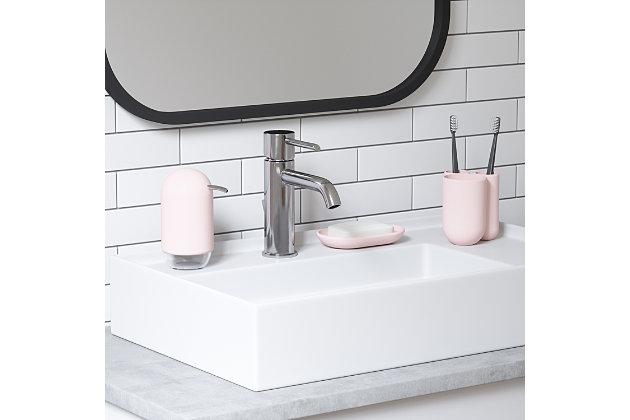 Umbra Touch Bath Bundle Pink, Pink, large