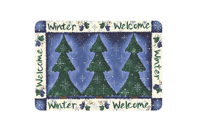 "Christmas  Premium Comfort Winter Welcome 22""x31"" Mat, , large"