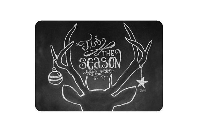 "Christmas  Premium Comfort Tis the Season Deer 22""x31"" Mat, , large"