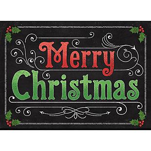 "Christmas  Premium Comfort Blackboard Xmas 22""x31"" Mat, , rollover"