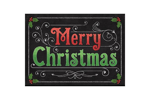 "Christmas  Premium Comfort Blackboard Xmas 22""x31"" Mat, , large"
